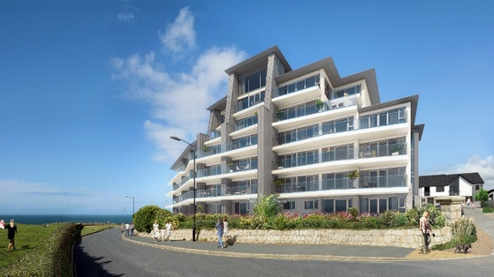 Lusty Glaze Apartments Newquay Cornwall